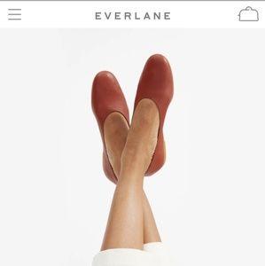 Everlane Leather Day Glove in Brick 7.5